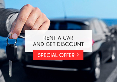 Rent a car and get discount
